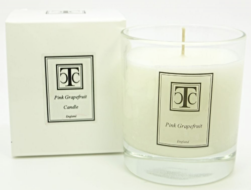 Pink Grapefruit Scented Candle 40 hour